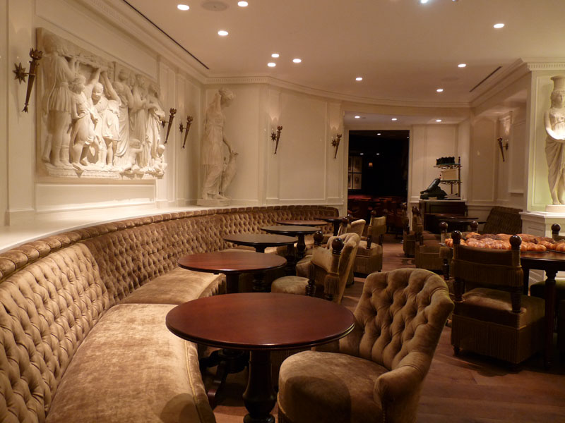 IG Siège de Liffol : Restaurant Ladurée Haussmann par Henryot & Cie